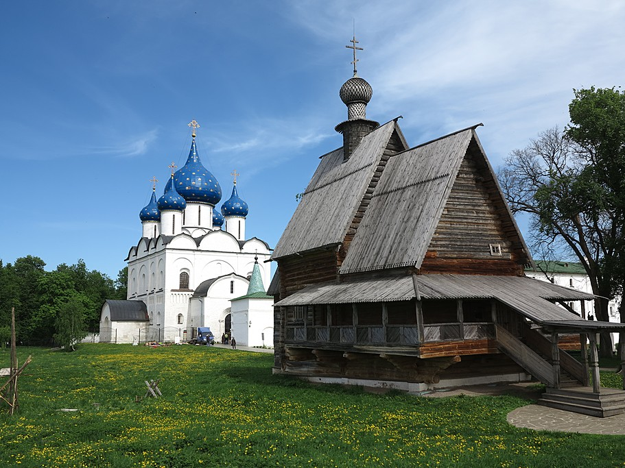 Wooden architecture museum, Suzdal