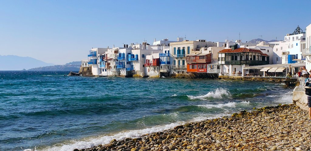 View of Mykonos in Greece (Photo courtesy of Pixabay)