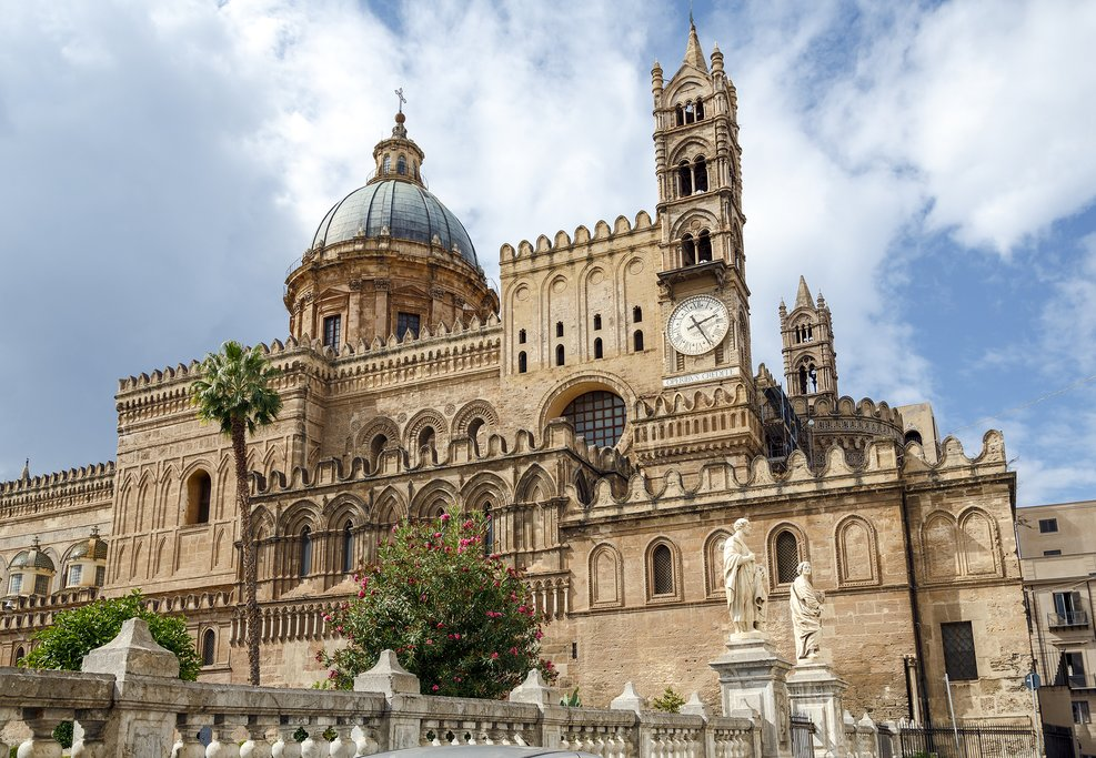 The celebrated Monreale Cathedral