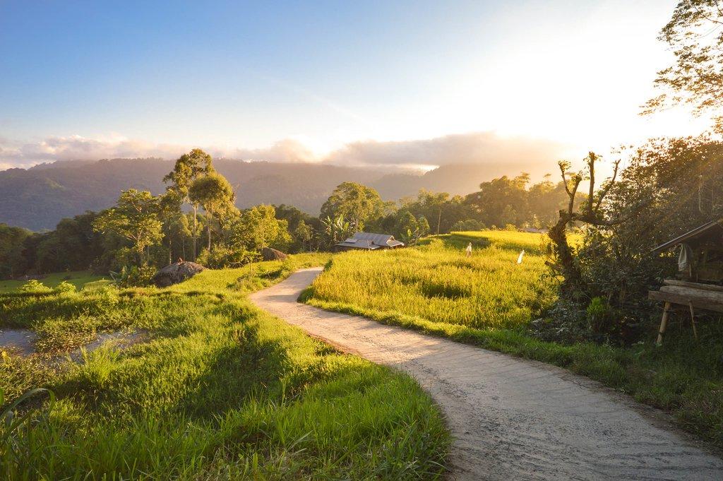 Travel through the Sulawesi highlands
