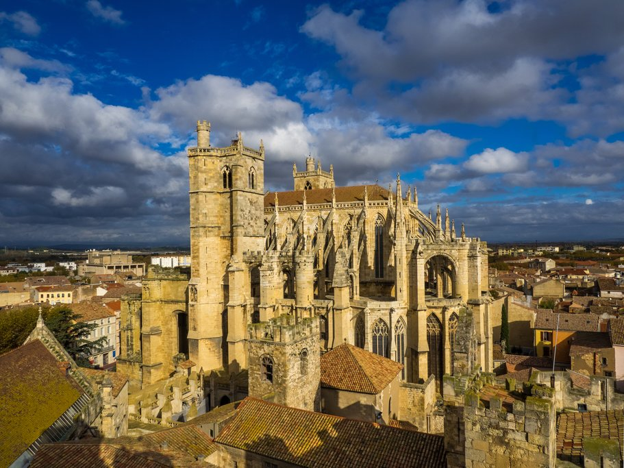Gothic cathedral of Narbonne