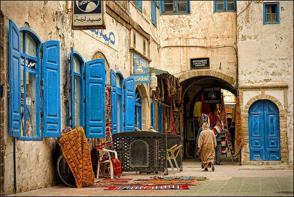 The charming and calm Medina is a dream to explore