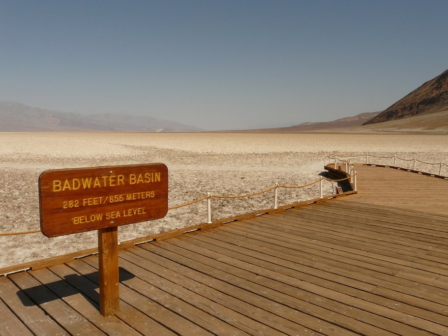 Exploring Badwater Basin