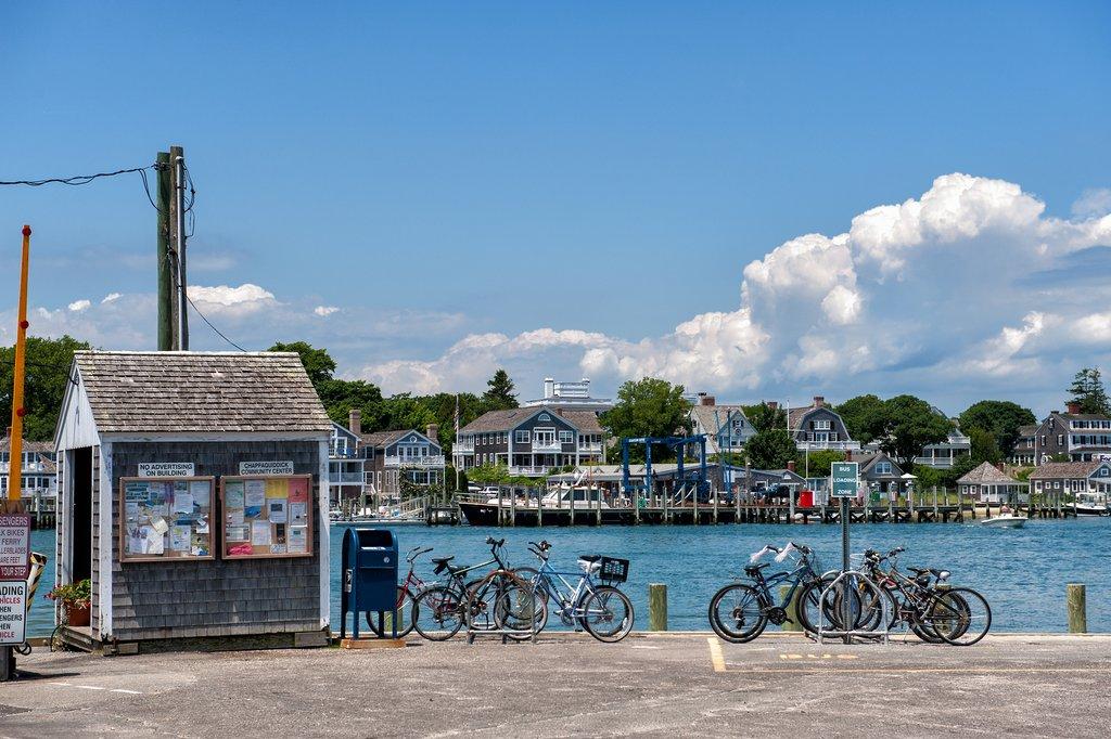 Bikes in Edgardown