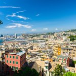 Panoramic viewpoint of Genoa
