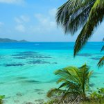The turquoise waters of Providencia