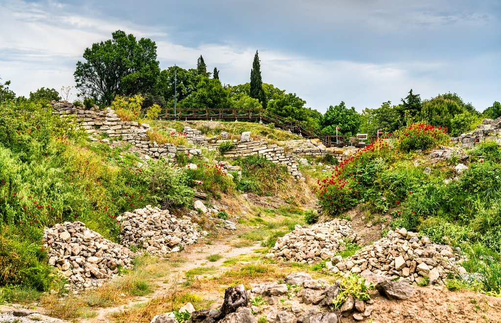 Ancient Ruins in Troy