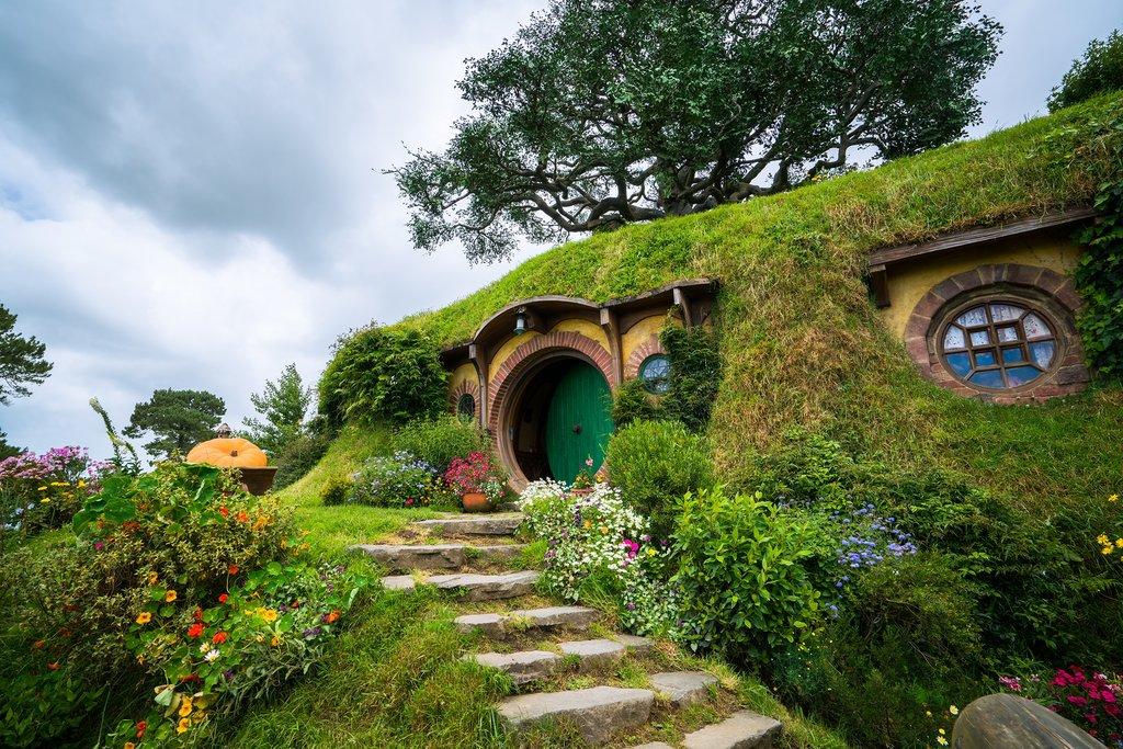 Hobbiton in Matama - New Zealand