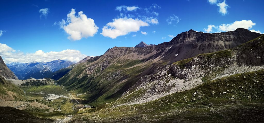 Mountains near Courmayeur