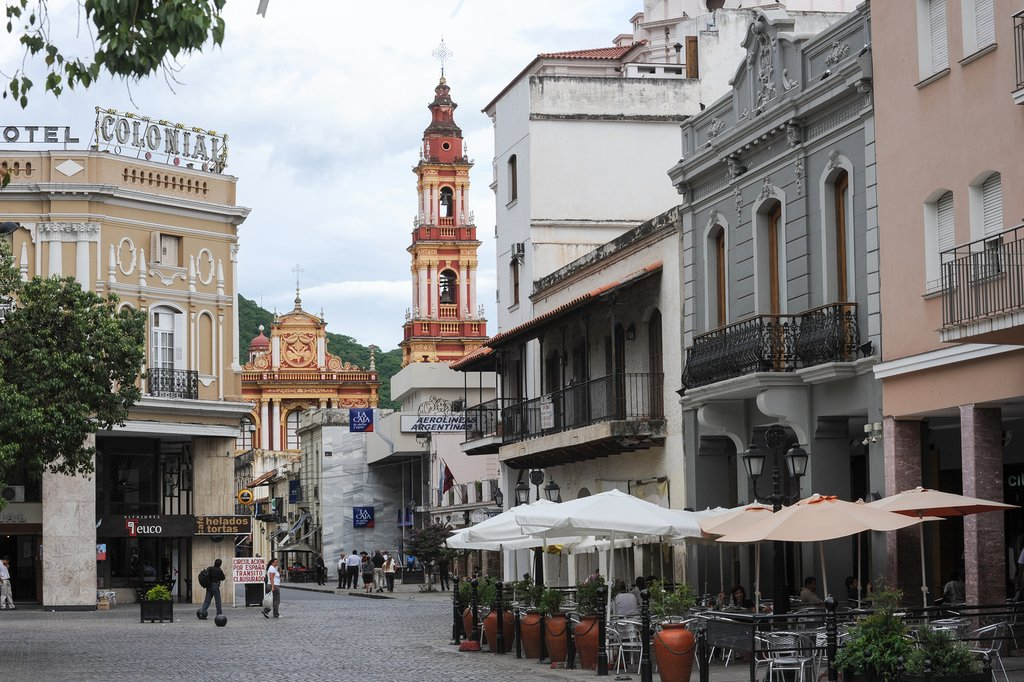 Salta's main square