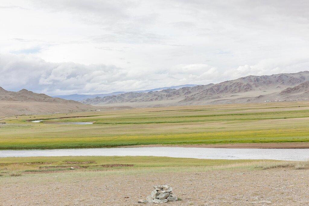 The vast landscapes of  Altai Tavan Bogd National Park