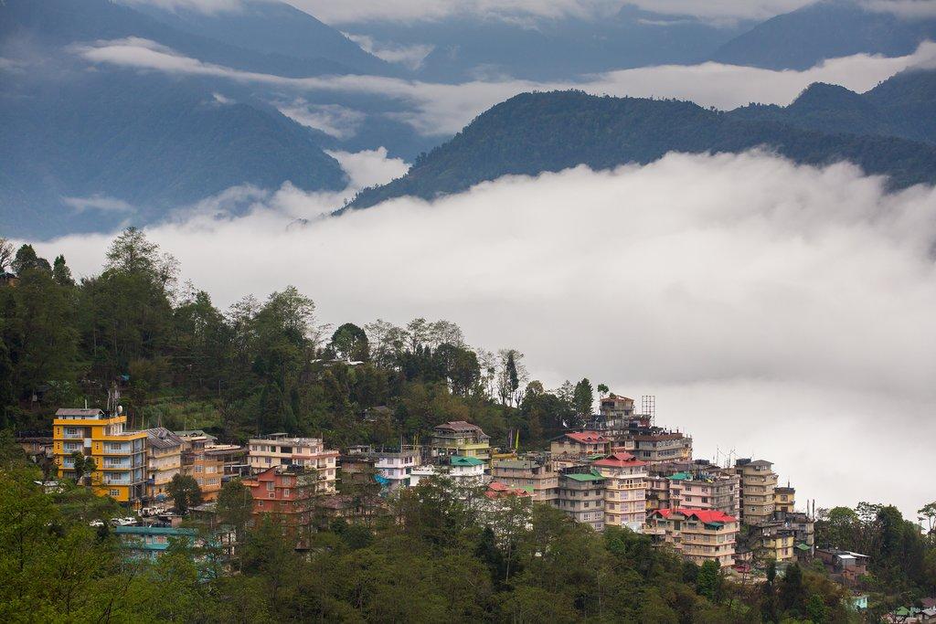 Pelling town, Sikkim