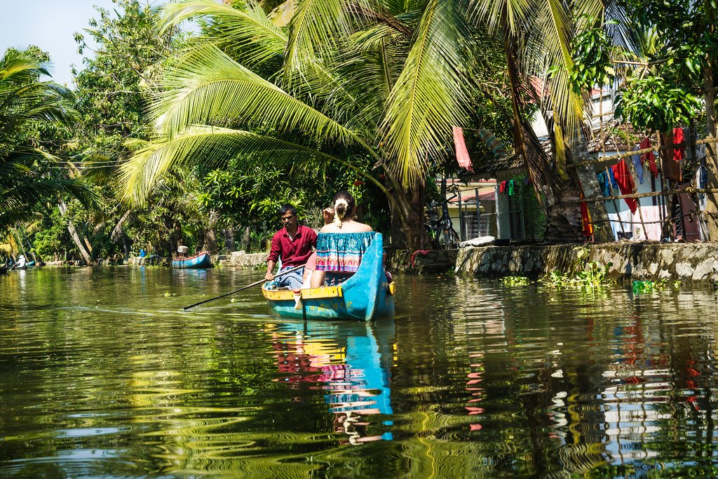 These waterways are an essential method of transportation