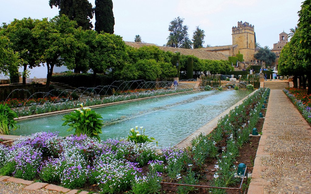 Gardens in the Alcázar of Christian Monarchs