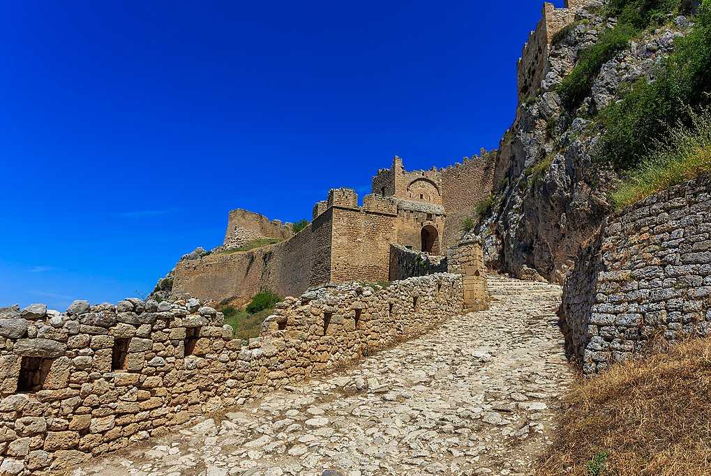Fortress at Acrocorinth