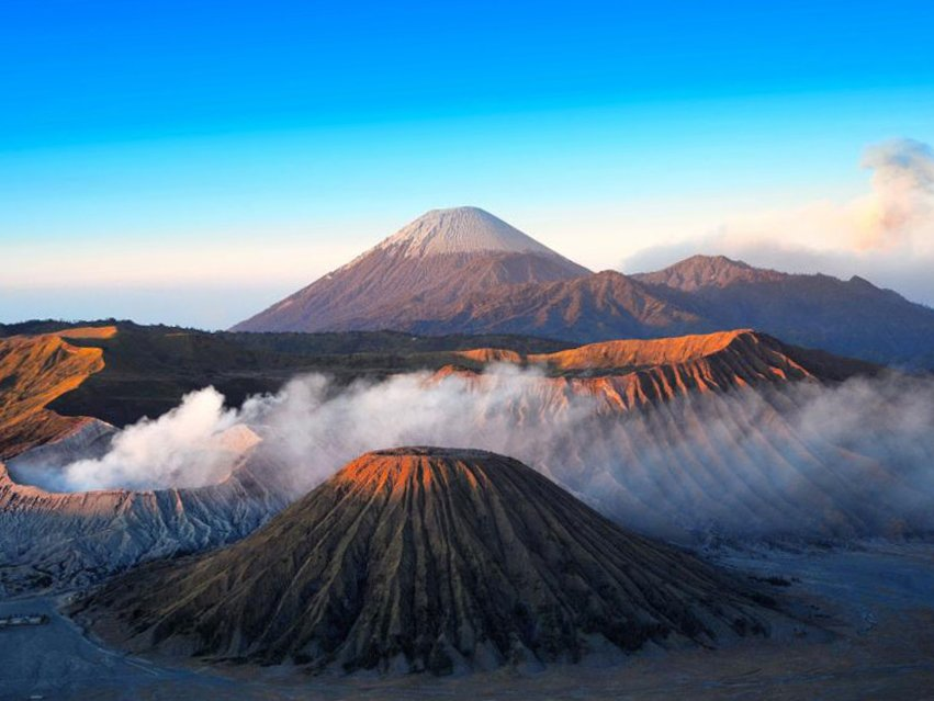 Batok, Bromo and Semeru
