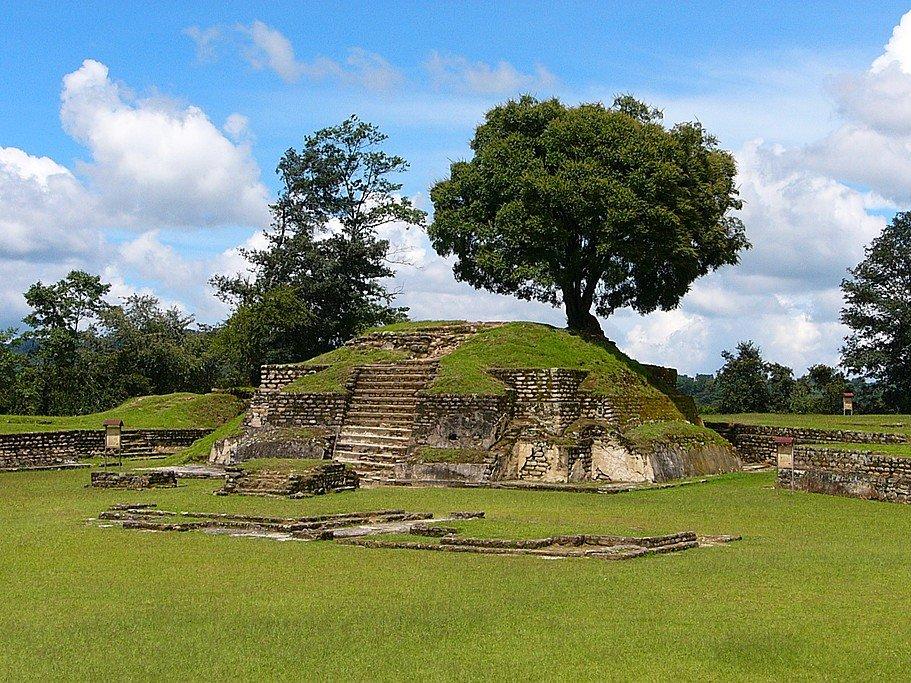 The Iximché ruins