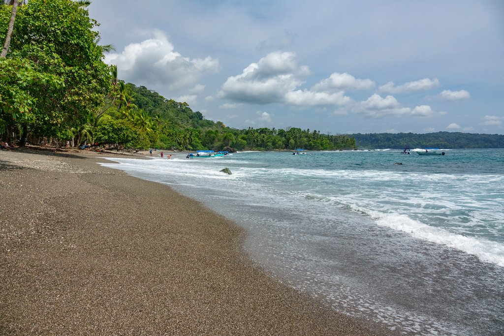 The remote beaches of the Osa Peninsula