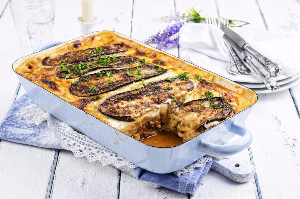 Enjoy a savory Greek dish