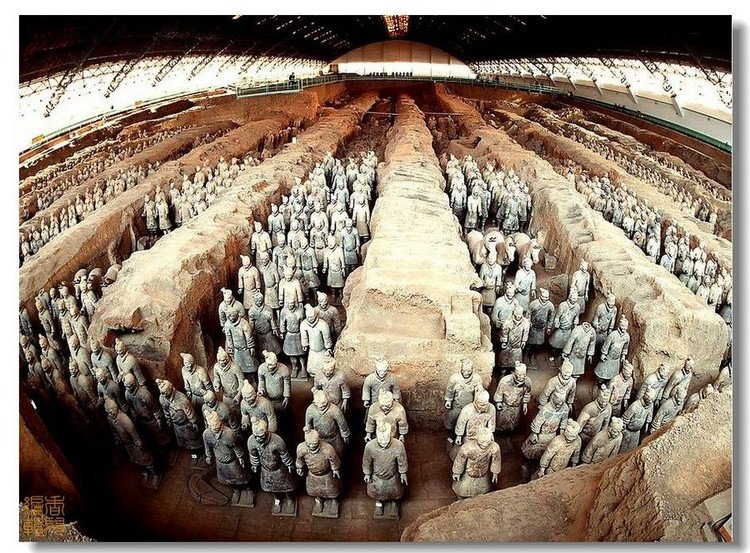 The 2,000-year-old Terracotta Warriors are a sight to behold.