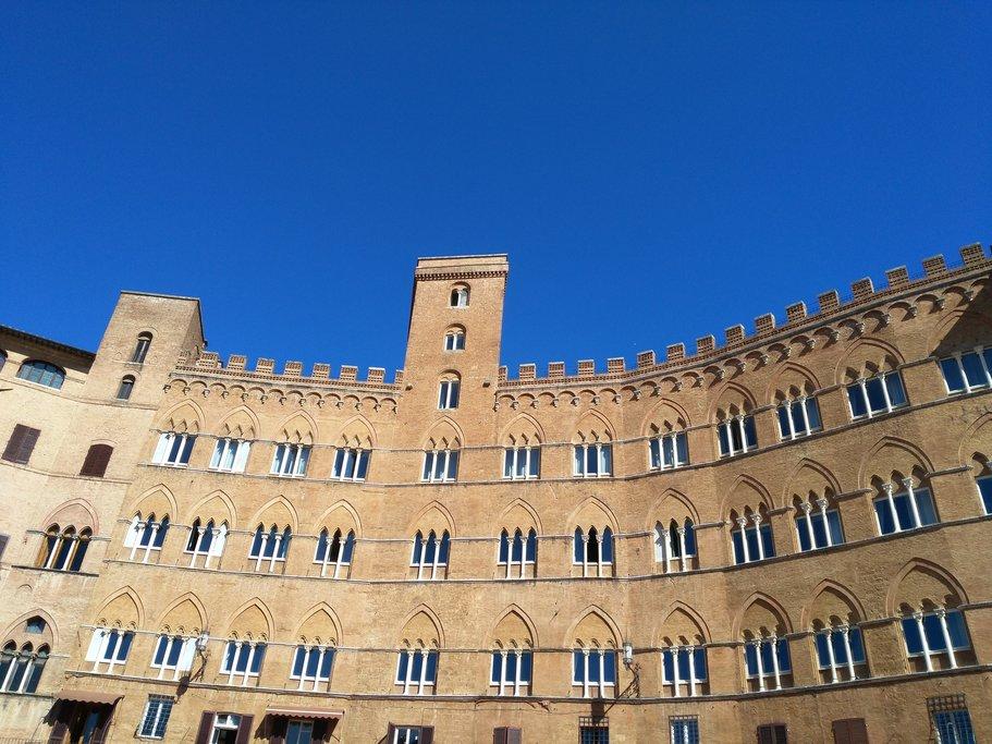 Siena's Palazzo Sansedoni.