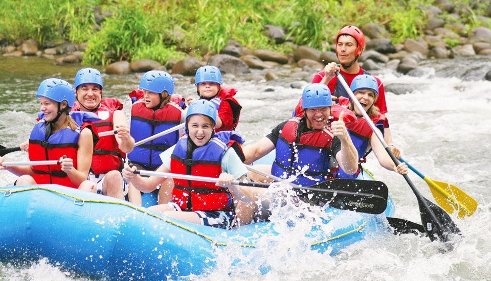 Rafting fun on the Balsa River