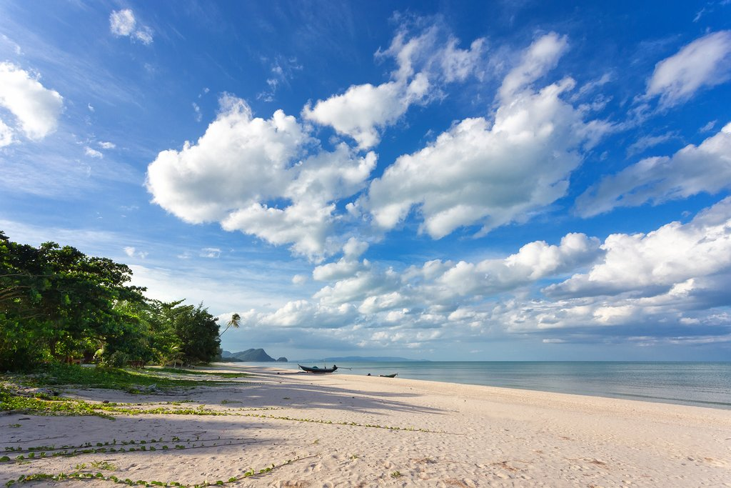 Spend a free day relaxing on Khanom's wild and empty beaches