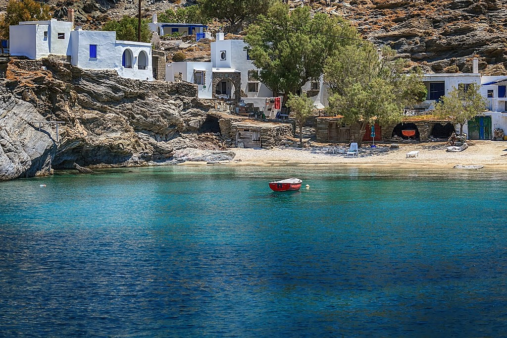 Turqouise Coves of Tinos