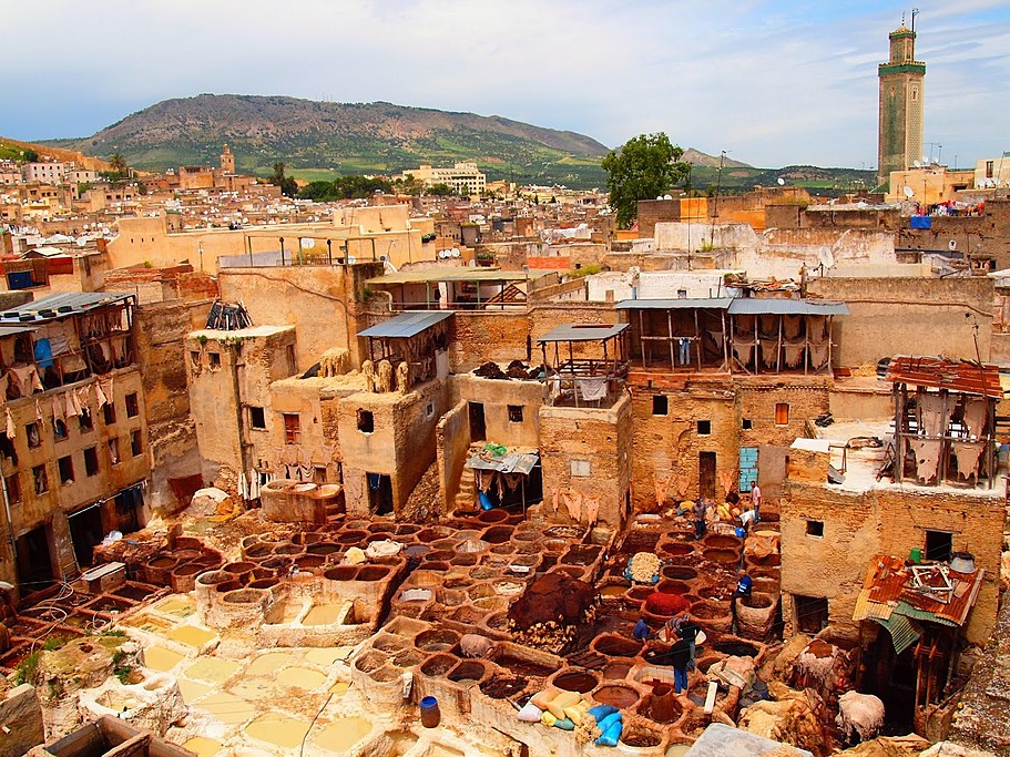Tannery of Fes