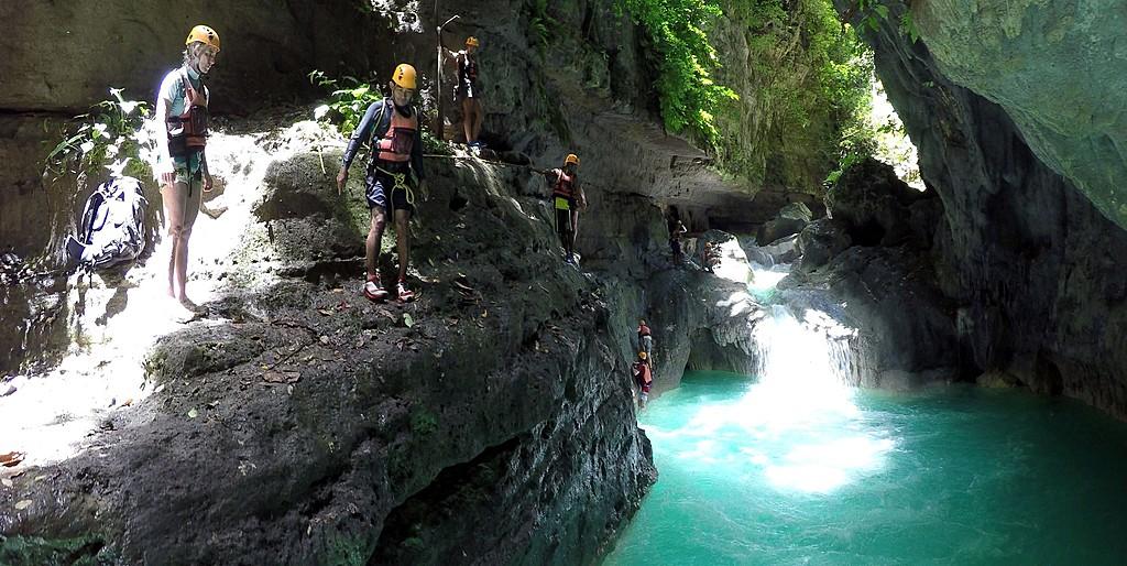 Climb your way to Kawasan Falls