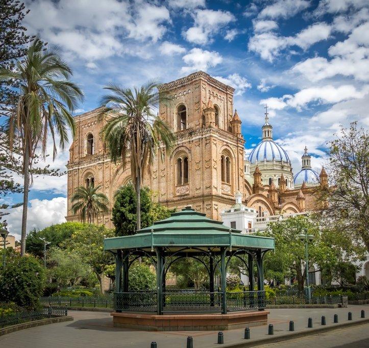 Parque Calderon in Cuenca