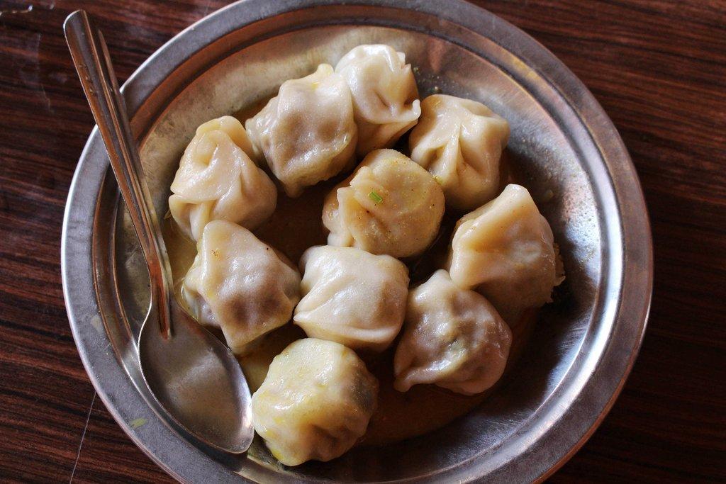 Momo, or Tibetan-style dumplings