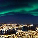 Tromsø glitters after dark