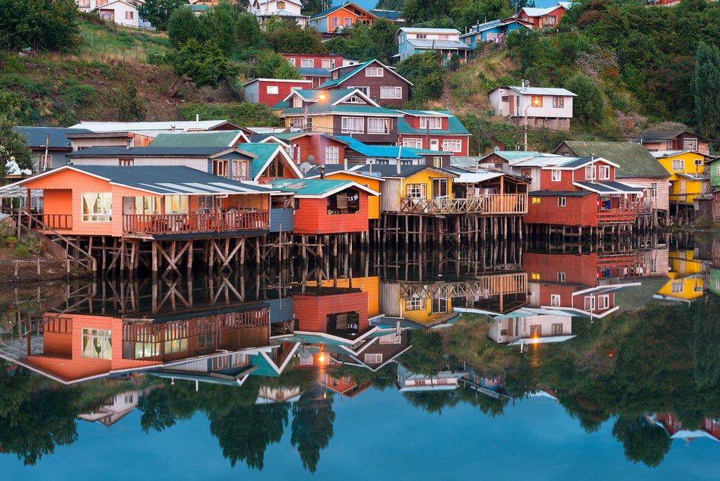 Chiloe's traditoinal stilt houses