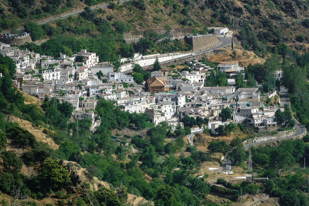 The white villages of Las Alpujarras