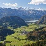 The Lake Bohinj glacial valley