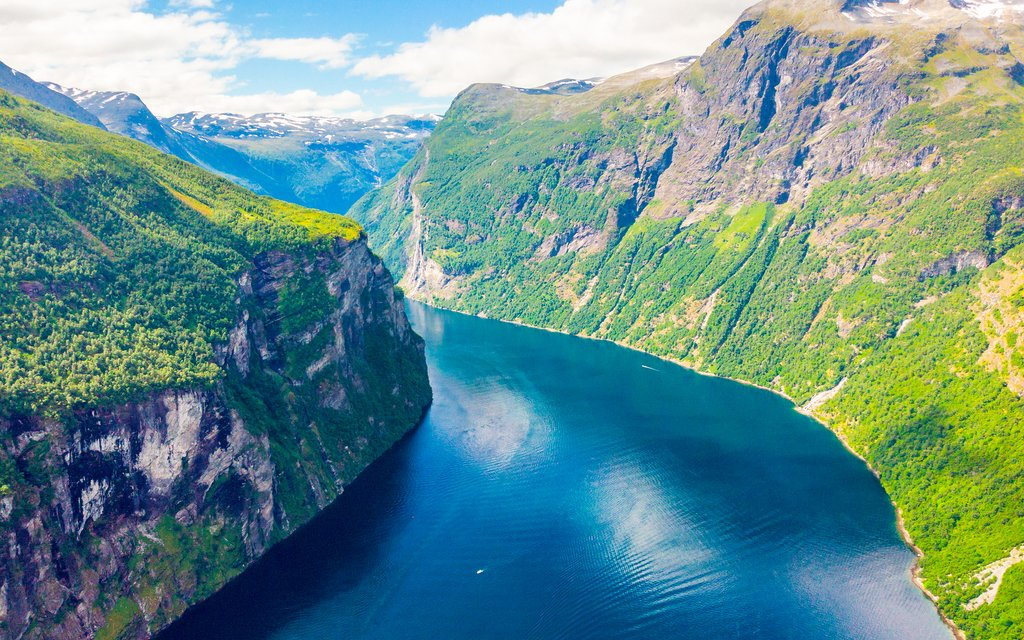 The UNESCO-listed Geirangerfjord