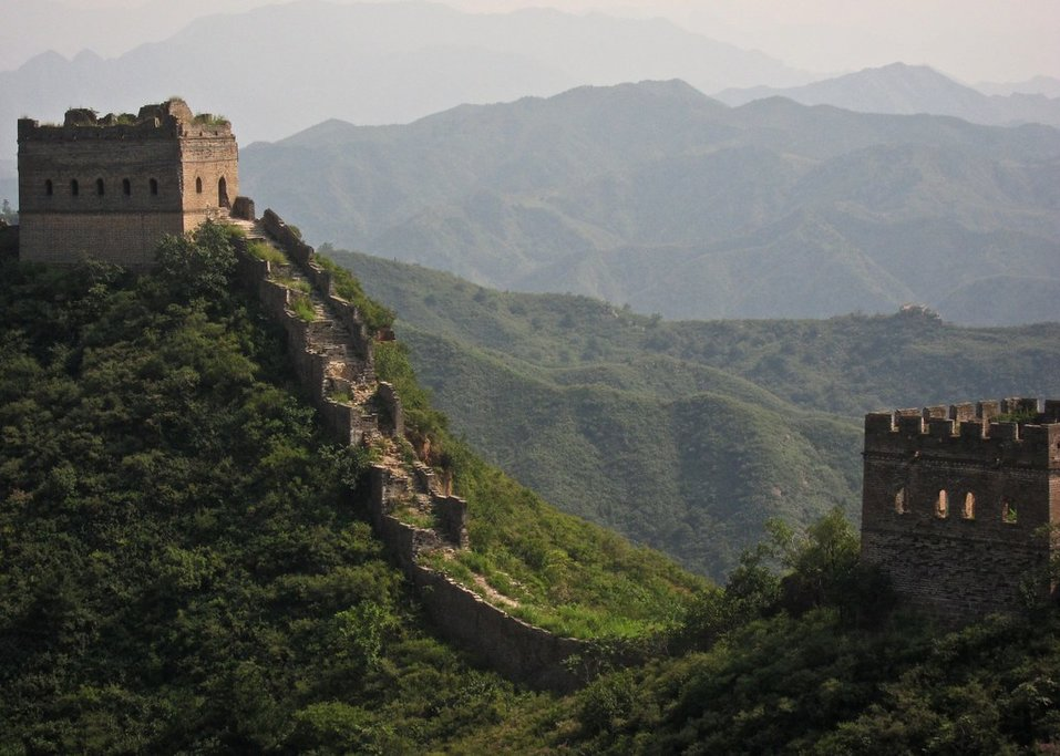 The Gubeikou area of the Great Wall