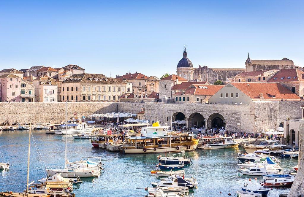 A postcard-perfect view of Dubrovnik, Croatia