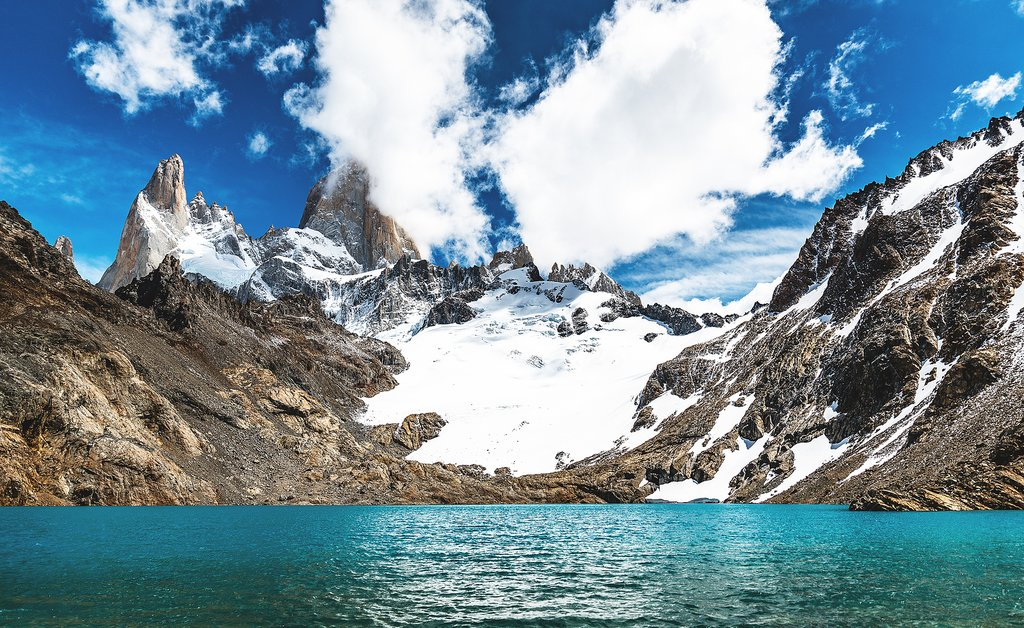 Mount Fitz Roy and Laguna de los Tres