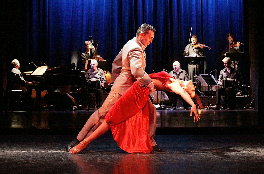 Enjoy the romance and passion of a tango show