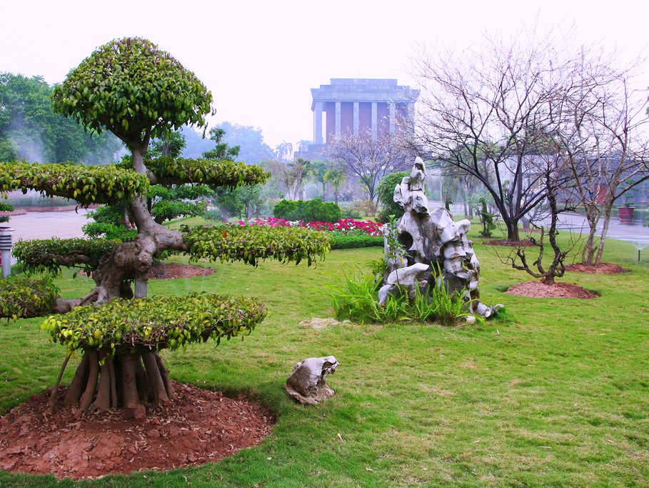 The Ho Chi Minh Mausoleum