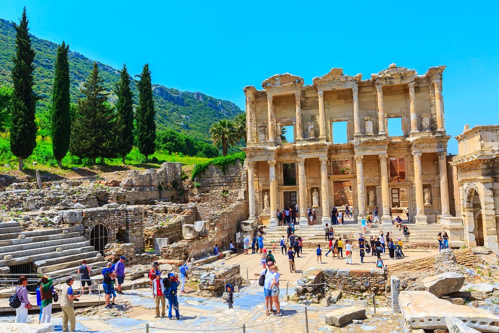 Ruins in the Ancient City of Ephesus