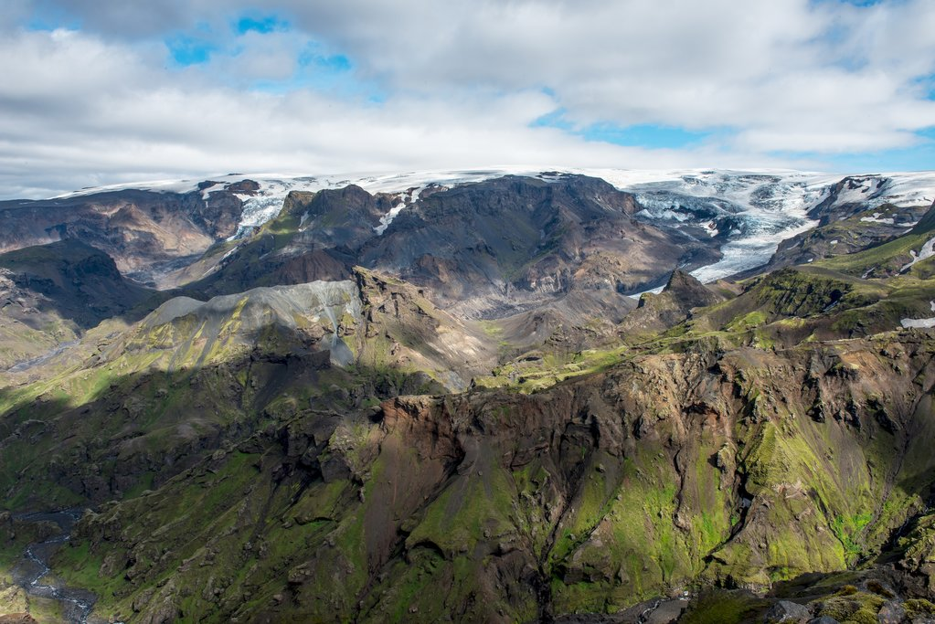 Views of the mighty Eyjafjallajokull