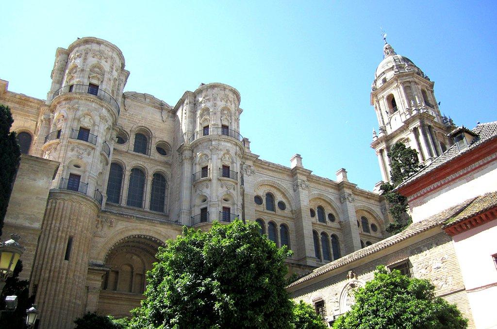 Malaga's Catedral de la Encarnación.