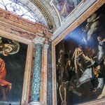 Church of St. Louis of the French, Contarelli Chapel contains a cycle of paintings by Caravaggio