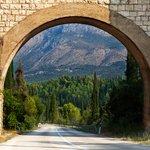 Stone arch in southern Croatia's Konavle region