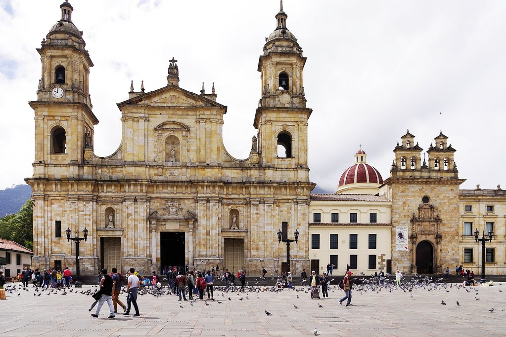 Sightseeing in the historic center of Bogotá