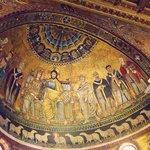 Interior of the Basilica of Santa Maria in Trastevere