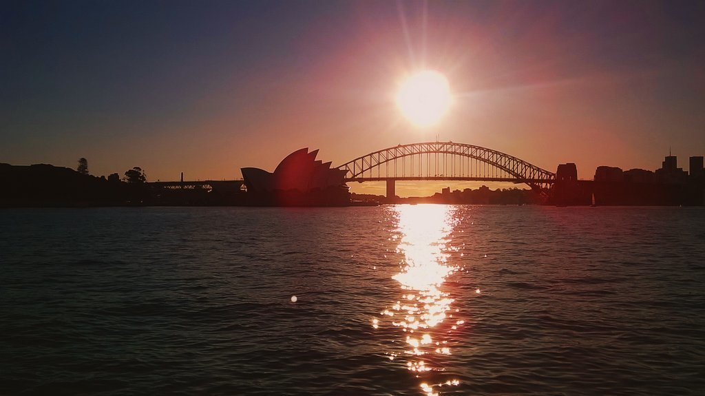 Farewell, Sydney!